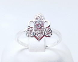 PURE 925% RINGS WITH TOP CLASS CUBIC ZIRCONIA R#20