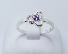 PURE 925% RINGS WITH TOP CLASS CUBIC ZIRCONIA R#21