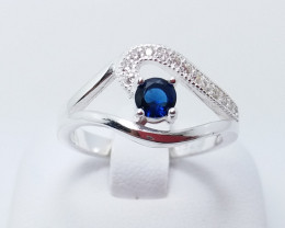 PURE 925% RINGS WITH TOP CLASS CUBIC ZIRCONIA R#22