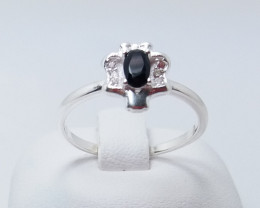 PURE 925% RINGS WITH TOP CLASS CUBIC ZIRCONIA R#27
