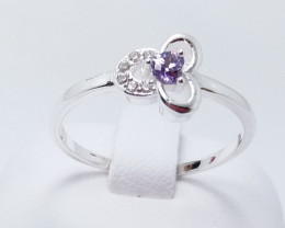 PURE 925% RINGS WITH TOP CLASS CUBIC ZIRCONIA R#29