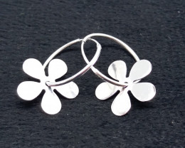 PLANE 925 SILVER EARRINGS R#8