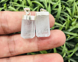 Amazing Color 43.75 Ct Natural Aqua Pendants