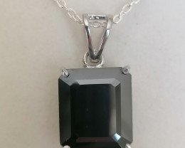 Black Diamond Pendant 10.85cts.