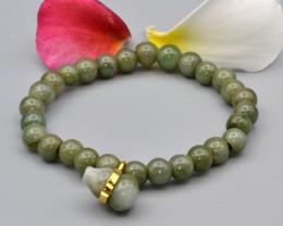 Natural Jadeite Bracelet