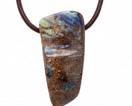 Australian Boulder Opal Pendant OPJ 2380