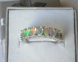 Opal and Diamond Ring 1.00 TCW