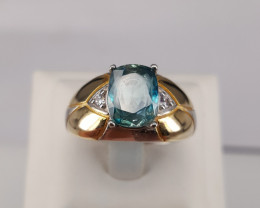 Natural Topaz Ring