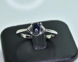 8.13 Crt Natural Opal 925 Silver Ring