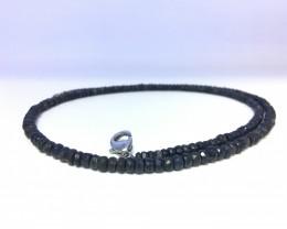 92.46 Crt Natural Blue Sapphire Necklace