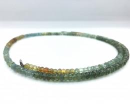 85.36 Crt Natural Green Garnet Necklace