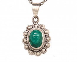 Beautiful l  Turquoise Tribal  Sterling Silver Design  BR 340