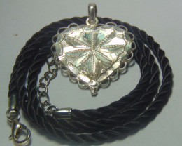 faceted pendent ~ ~ 999 silver designs 20.55cts