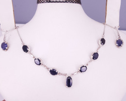 Natural Iolites Necklace.