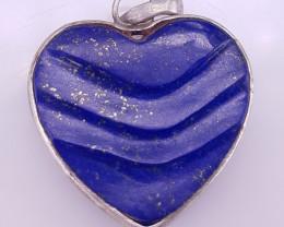 Natural Lipas lazuli Pendants.