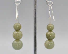 Natural Jadeite Earrings