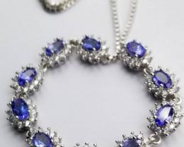A Beautiful Tanzanite Bracelet