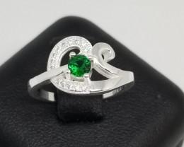 Stunning Cubic Zirconia Silver 925 Ring