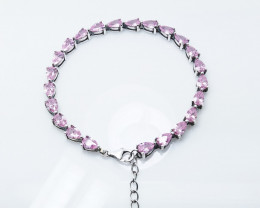 PURE 925% BRACELETS WITH TOP CLASS CUBIC ZIRCONIA B#1