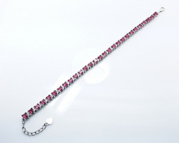 PURE 925% BRACELETS WITH TOP CLASS CUBIC ZIRCONIA B#2