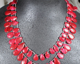 605.0 Tcw. Ruby Necklace - Gorgeous