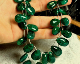 700.0 Tcw. Emerald Necklace - Gorgeous