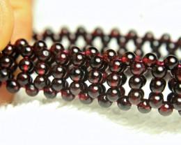 103.5 Tcw. Garnet Bracelet - Gorgeous