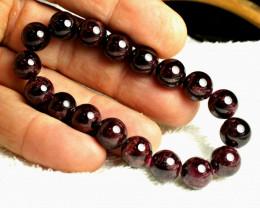 219 Tcw. Garnet Bracelet - Gorgeous