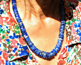750.0 Tcw. Lapis Lazuli Necklace - Beautiful