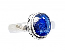 Natural Stunning Kyanite 925 Sterling Silver Ring (JE39)