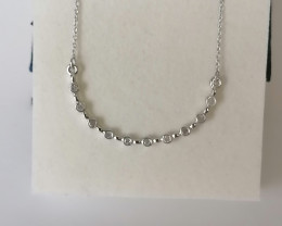 Diamond Necklace 0.20 TCW