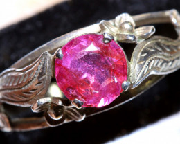 12.10 CTS RUBY SILVER RING  RJ-729