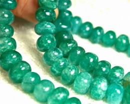 593.5 Indian Emerald Necklace - Beautiful