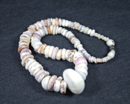 Colorful Authentic Handmade Natural Hawaiian Puka Shell Necklace 17.5 inche