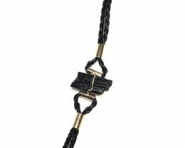 Raw Balck Tourmaline Bracelet BR 2001