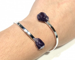 Raw Amethyst Bracelets