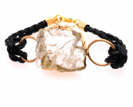 Raw Rock Crystal Bracelet  BR 701