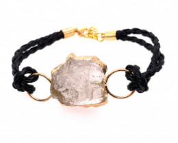 Raw Rock Crystal Bracelet  BR 704