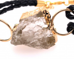 Raw Rock Crystal Bracelet  BR 705