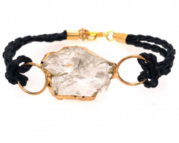 Raw Rock Crystal Bracelet  BR 706
