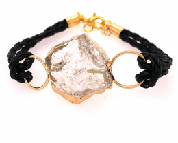 Raw Rock Crystal Bracelet  BR 709