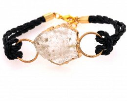 Raw Rock Crystal Bracelet  BR 710