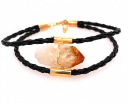 Raw Rock Citrine Bracelet  BR 712