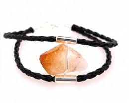 Raw Rock Citrine Bracelet  BR 731