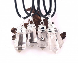Terminated Point Crystal Pendants