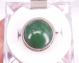 Natural Nephrite Ring.