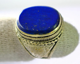 67.60 CT Natural lapis lazuli Ring Stone Special Shape