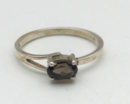 7.85 Crt Natural Tourmaline 925 Silver Ring ( RK-5 )