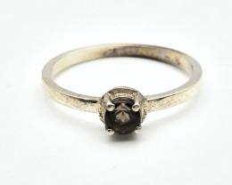 6.28 Crt Natural Tourmaline 925 Silver Ring ( RK-5 )