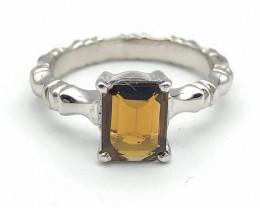 16.21 Crt Natural Tourmaline 925 Silver Ring ( RK-5 )